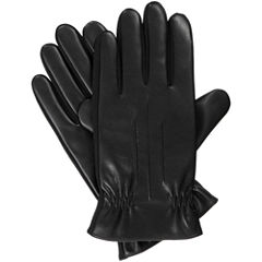 Isotoner Faux Nappa Gloves with Smartouch Technology