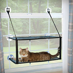 K & H Manufacturing Kitty Sill Double Stack Ez Window Mount, 12
