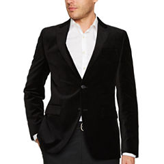 J.Ferrar Slim Fit Velvet Sport Coat