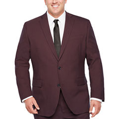 J.Ferrar Classic Fit Stretch Suit Jacket-Big and Tall