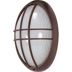 Filament Design 1-Light Architectural Bronze Outdoor Wall Sconce