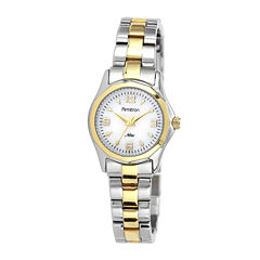 Armitron® Now® Womens Two-Tone Mother-of-Pearl Watch