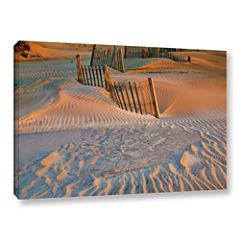 Brushstone Dune Patterns II Gallery Wrapped CanvasWall Art