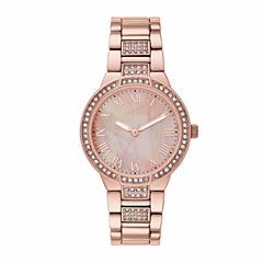 Relic Womens Rose Goldtone Bracelet Watch-Zr34373