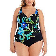 Robby Len By Longitude One Piece Swimsuit Plus