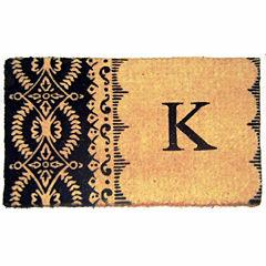 Imperial Heirloom Monogram Rectangular Doormat