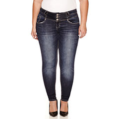 Love Indigo Skinny Fit Jean-Plus