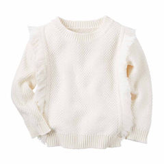 Carter's Girl Ivory Sweater 4-8