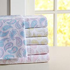 Mi Zone Cotton Paisley Sheet Set