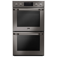 LG STUDIO Electric 4.7 cu. ft. Double Wall Oven