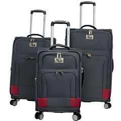 Chariot Travelware Naples 3 PC Spinner Luggage Set