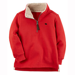 Carter's Quarter-Zip Lightweight Fleece Jacket-Toddler Boys