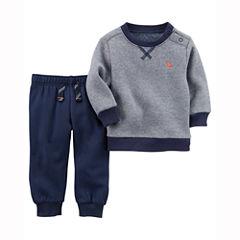 Carter's 2-pc. Stripe Pant Set Baby Boys
