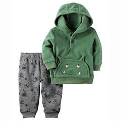 Carter's 2-pc. Animal Pant Set-Baby Boys