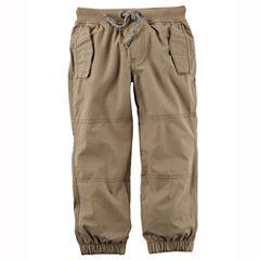 Carter's Woven Jogger Pants - Preschool Boys