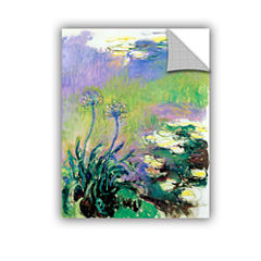 Agapanthus Removable Wall Decal