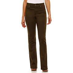 St. John's Bay® Secretly Slender Straight-Leg Jeans