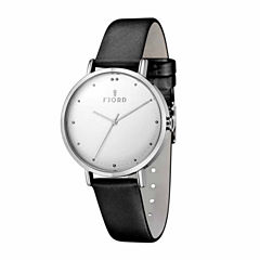 Fjord Womens Black Strap Watch-Fj-6019-02