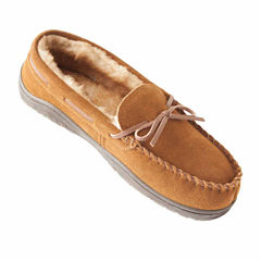 Rockport Suede Moccasin Slippers