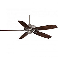 52in Brushed Pewter Indoor Ceiling Fan