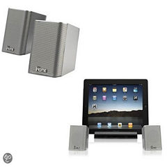 iHome iDM15 Rechargeable Portable Bluetooth Speakers with Speakerphone for iPad/iPhone/iPod