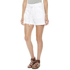 a.n.a Tie Waist Shorts (3 3/4