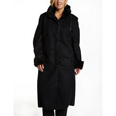 Excelled Leather Heavyweight Parka-Plus
