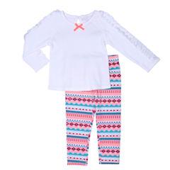 Arizona 3-pc. Pant Set Baby Girls