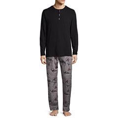 Stafford® Microfleece Pajama Set - Big and Tall
