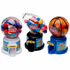 Dubble Bubble Hot Sports Gumball Machine Dispensers: 12 Piece Box