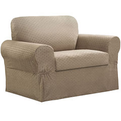 Maytex Smart CoverR Conrad Stretch 2 Pc Chair Slipcover
