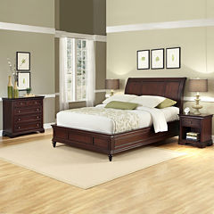 Roxberry Sleigh Bed or Headboard, Nightstand and Chest