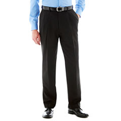 Savane® Pleated Crosshatch Dress Pants