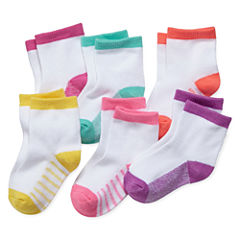 Okie Dokie 6 Pair Crew Socks