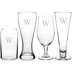 Cathy's Concepts Personalized 4-pc. Specialty Beer Glass Set
