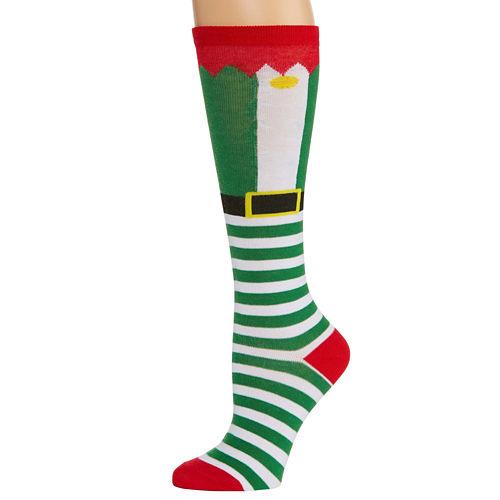 City Streets 1 Pair Knee High Socks - Womens