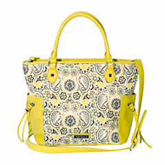 Waverly Star Quilted Satchel