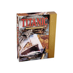 BePuzzled Murder on the Titanic Murder Mystery Jigsaw Puzzle: 1000 Pcs