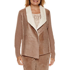 Alfred Dunner Twilight Point Moleskin Jacket