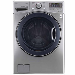 LG ENERGY STAR® 4.5 cu.ft. Front Load Washer with TurboWash®