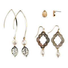 Decree 3 Pair Earring Sets