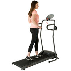 FITNESS REALITY TRE5000 Compact Folding Electric Treadmill with Heart Pulse
