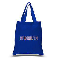 Los Angeles Pop Art Brooklyn Neighborhoods Tote