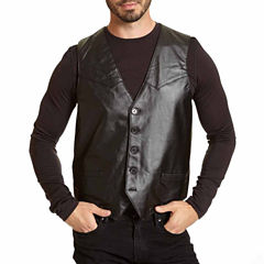 Excelled® Lambskin Leather Vest–Big & Tall