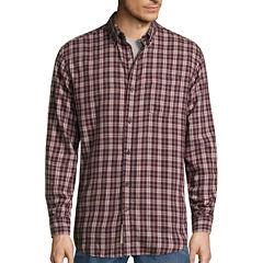 St. John's Bay® Long-Sleeve Classic-Fit Flannel Shirt