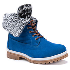 Muk Luks Megan Womens Water Resistant Winter Boots