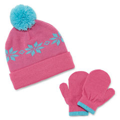 Weatherproof Snowflake Intarsia 3-pc. Cold Weather Set-Baby Girls