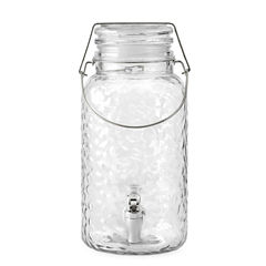 Home Essentials Hammered Beverage Dispenser