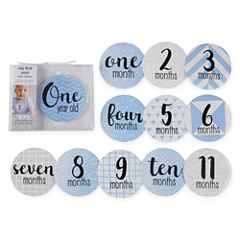 Okie Dokie Milestone Belly Stickers Baby Milestones - Boys