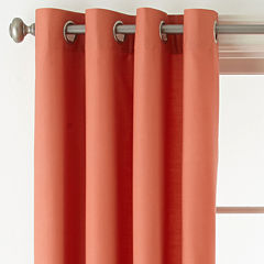 JCPenney Home Verona Grommet-Top Curtain Panel